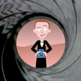 Bar Mitzvah Event – James Bond animation