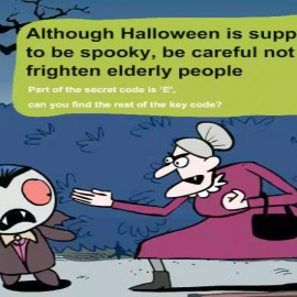 Animated Campaign for Safety on Halloween