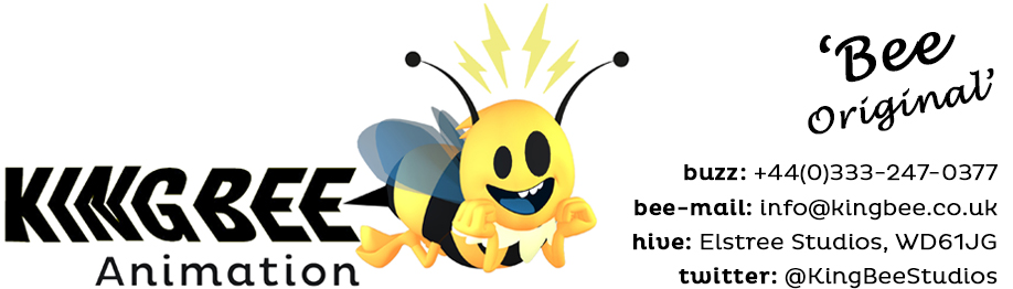 Animation Company Studio London UK : King Bee3D ANIMATION AND 2D MOTION GRAPHICS ANIMATION -