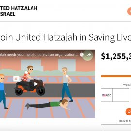 United Hatzalah – Successful Fundraising Animated Promo Video